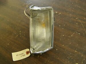 NOS OEM Ford 1972 Lincoln Mark IV Park Light Assembly Lamp Lens LH