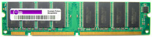 256MB Mosel Vitelic PC133-333 Sd-Ram 133MHz CL3 168-Pin Dimm V436532S04VATG-75