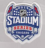 2014 NHL STADIUM SERIES PATCH CHICAGO BLACKHAWKS VS.PITTSBURGH PENGUINS