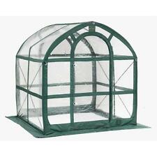 SpringHouse 6 ft. x 6 ft. PVC Pop-Up Greenhouse portable supplies & kits