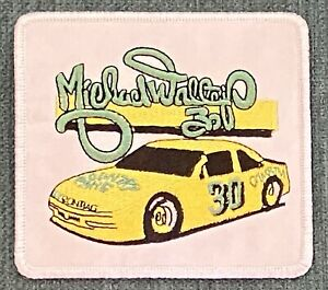 Michael Waltrip Vintage Nascar Racing Country Time Shirt Hat Iron Patch Retro