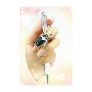 Luxus Nagelring Fingerspitzenring Diva Look Ring mit Strass Krone Schwarz X-11