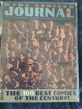 THE COMICS JOURNAL 210, 100 BEST COMICS, FANTAGRAPHICS, FEBRUARY 1999, VF