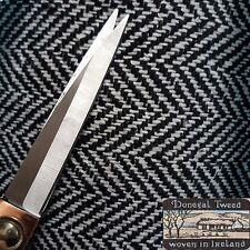 3m Heavy Donegal wool herringbone fabric,material for coats,suits 150cm