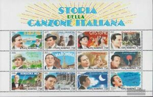 San Marino block21 (complete issue) fine used / cancelled 1996 italian schlager