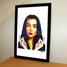 Morticia Addams The Addams Family Carolyn Jones TV Poster Print Wall Art 11x17