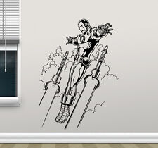 Iron Man Wall Decal Avengers Superheroes Vinyl Sticker Art Decor Mural 134zzz