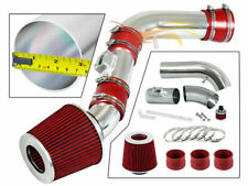 BCP RED For 07-12 Colorado/Canyon/H3/H3T 3.7 I5 Cold air intake kit +Filter