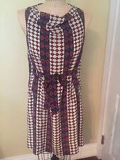Marc Jacobs Tribal Print Silk Dress Sz S
