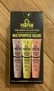 Dr. PawPaw Nude Collection - Set of 3 -Full Size (0.85oz/25mL) Balms -NIB/Sealed
