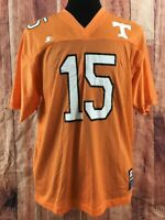 Tennessee Volunteers Vintage Medium Starter Jersey Orange College Football #15