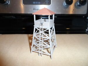 HO SCALE LOOK OUT TOWER