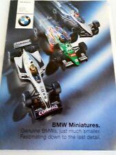 2000 BMW MINIATURES Full Line Model Diecast Catalog E46 E39 M1 Z8 FW22 V12 LMR