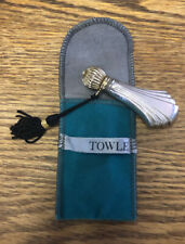 """Antique Victorian Handmade """" Towle """" Sterling Silver Perfume Bottle"""