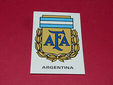 26 BADGE ARGENTINA ARGENTINE FOOTBALL PANINI WORLD CUP STORY 1990 SONRIC'S