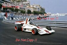 Graham Hill Embassy Racing Shadow DN1 Monaco Grand Prix 1973 Photograph 3