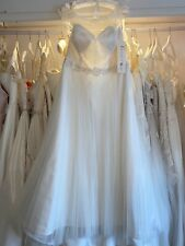 English rose ivory wedding dress size 18