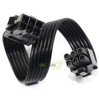 Mini 6Pin Male to 6Pin Female PCI-E GPU Video Card Power Extension Cable 20cm