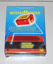 GRILLO PARLANTE Modulo espansione 1 MODULE MAGIQUE Nuovo 1985 Francese