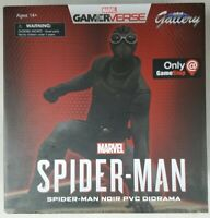 DIAMOND GALLERY SPIDERMAN NOIR PVC DIORAMA MARVEL GAMERVERSE GAMESTOP EXCLUSIVE