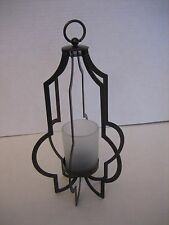 Party Lite Brown Metal Table Top or Hanging Votive/Tea Light Candle Holder New
