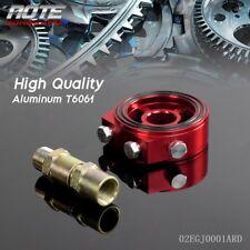 Sandwich Adapter Plate Turbo Oil Line Kit Aluminum Oil/Gauge Filter