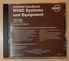 2016 Ashrae Handbook Cd Sealed Hvac Systems & Equipment