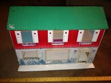 Vintage  Marx Metal/Tin Doll House, Metal Doll House, Marx Doll House