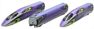 Rokuhan Z gauge T013-4 Shinkansen Evangelion project 500TYPE EVA 3 Basic Set NEW