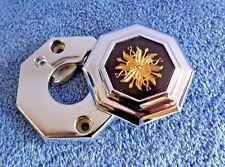 NOS NEW OEM 78-86 Bonneville Parisienne Trunk Lock Swing Bezel  Ornament Emblem