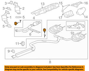 Buick GM OEM 10-16 LaCrosse 3.6L-V6 Exhaust-Front Pipe Insulator 13286674