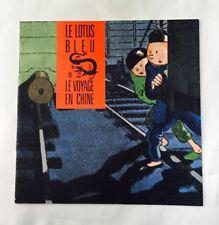 Catalogue Exposition BD Tintin - Le lotus Bleu ou Le voyage en CHINE / 1987