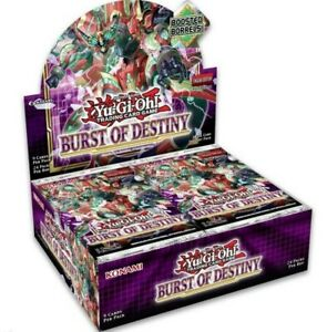 Yu-Gi-Oh! - Burst of Destiny Booster (24 Count) - BODE - PREORDER