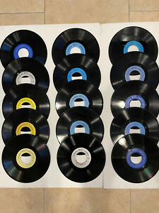 15 SEEBURG BASIC AND INDUSTRIAL BACKGROUND MUSIC RECORDS BMS 1000 162/3 RPM