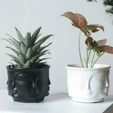 Creative Design Multi Face Planter Nordic Ceramic 3D Flower Pot Decoration New