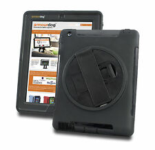 Armourdog ® Rugged 360 Grip Custodia Per Apple iPad 2/3 / 4 + IN VETRO TEMPERATO SCHERMO