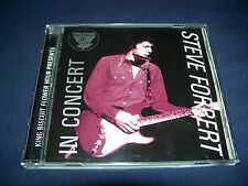 King Biscuit Flower Hour: New York 1982 - Steve Forbert (CD 1996) Near Perfect