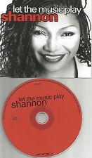 SHANNON Let the Music Play w/ RARE RADIO EDIT PROMO DJ CD single USA seller 2002