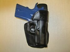 KIMBER ULTRA CARRYll & COLT DEFENDER , LEATHER OWB PADDLE HOLSTER