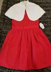 Girls Dress size 12 holiday occasion Wonder Nation Brand 2 piece
