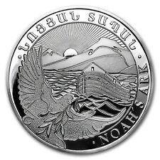 2017 Armenia 5 oz Silver 1000 Drams Noah's Ark - SKU #102669