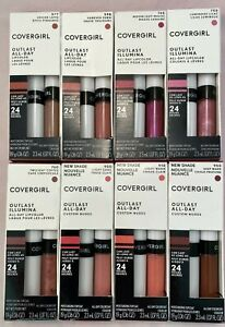 Covergirl Outlast 24hr  All Day Lipcolor Choose Your Shade ~COMBINED SHIPPING~
