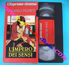 film VHS cartonata L'IMPERO DEI SENSI Nagisa Oshima ESPRESSO CINEMA (F95*)no dvd