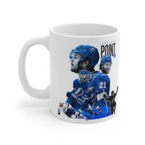 Brayden Point ART Mug Coffee Tea Gift Fun Team Logo NHL Hockey Souvenir