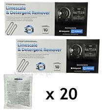 INDESIT Lavastoviglie Calcare Decalcificante DETERGENTE SMACCHIATORE BUSTINE 3in1 x 20