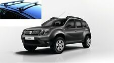 BARRE PORTATUTTO G3 DACIA DUSTER 2015 CON  RAILS OMOLOGATO MADE IN ITALI