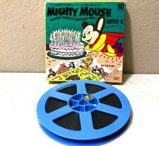 Mighty Mouse 1950s Vintage Super 8 Film Mint Condition Mother Goose Birthday 3-