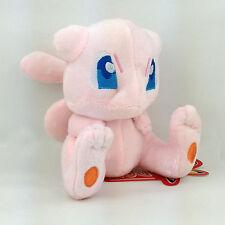 "Mew New Species Pokemon Legendary Pink Cat Soft Stuffed Animal Plush Toy Doll 6"""