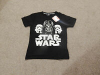 REDUCED  Official  Boys/Mens  Disney Star Wars T-Shirts In 3 Sizes 12A, XS,Small
