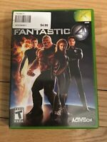 FANTASTIC 4 - XBOX - COMPLETE WITH MANUAL - FREE S/H - (TT)